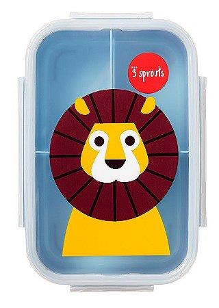 Bento Box (Porta Lanche e Comida) Leão - 3 Sprouts