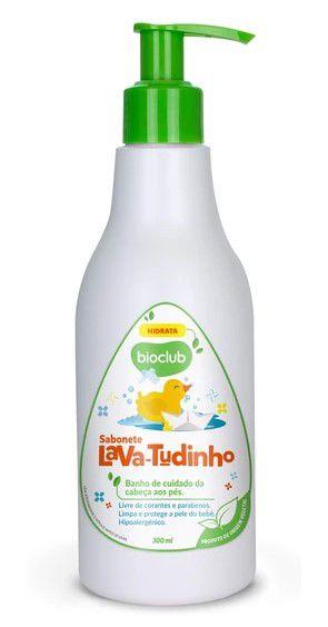 Sabonete Líquido com Glicerina Vegetal Sem Ressecar a Pele 300ml - Bioclub Baby