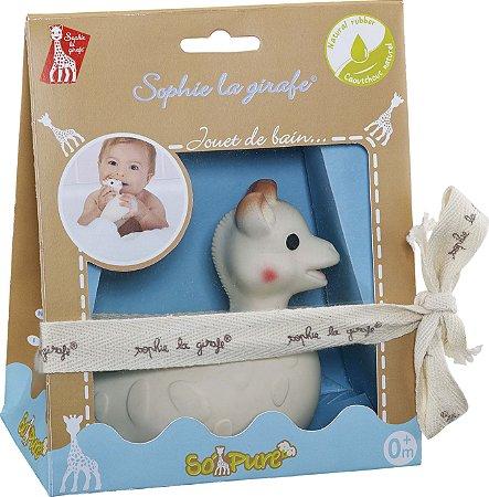 """Brinquedo de Banho """"So Pure"""" Sophie La Girafe - Vulli"""