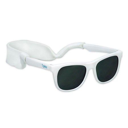 Óculos de Sol Flexível (Bêbê e Criança) com Proteção Solar Branco - Iplay