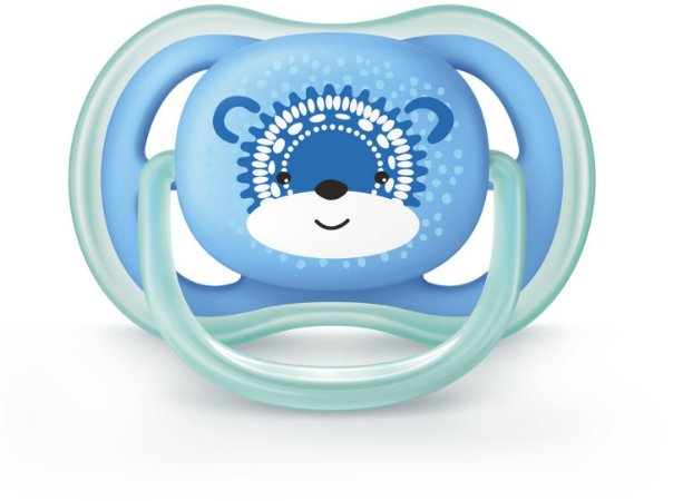 Chupeta Ortodôntica Ultra Air 6-18 Meses Menino Decorada - Philips Avent