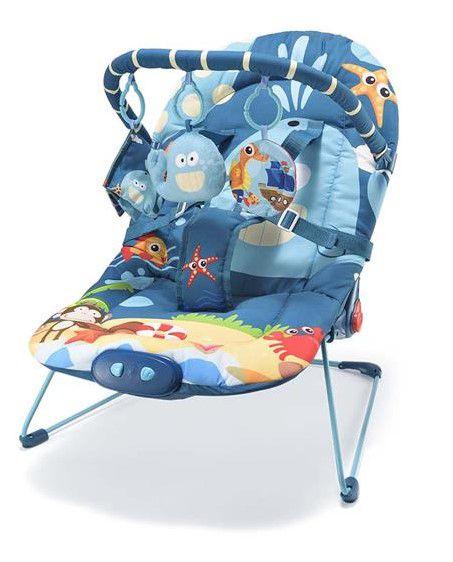Cadeira de Descanso Musical Amiga Baleia 0-15 Kg - Multikids Baby