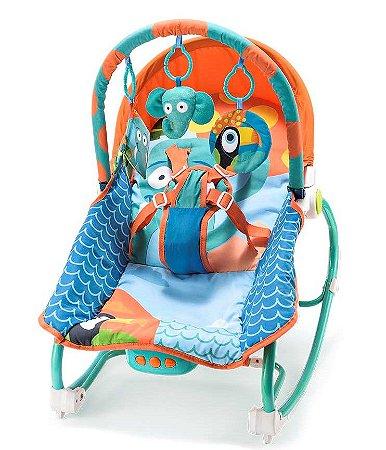 Cadeira de Balanço Musical Elefante 0-20 Kg - Multikids Baby