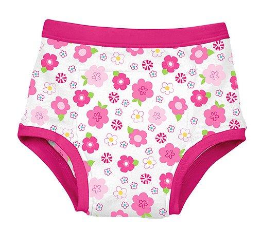 Calcinha de Treinamento para Desfralde Floral Pink - Green Sprouts