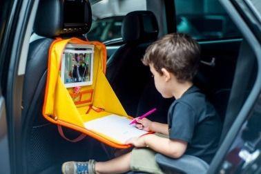 Suporte de Tablet para Carro e Mesa de Atividades Color Bag Patinho Joy - Baby Pil