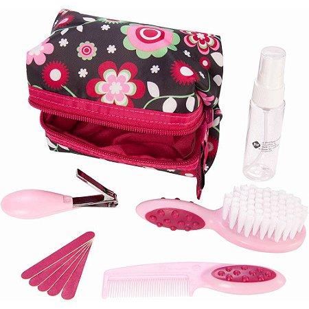 Kit de Higiene e Beleza Completo para o Bebê (10 peças) Rosa - Safety 1st