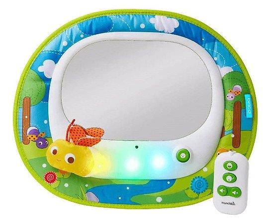 Espelho Retrovisor Musical para Banco Traseiro com LED e Controle Remoto - Munchkin