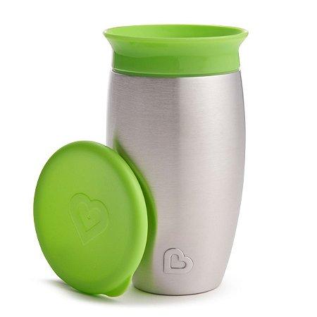 Copo Térmico de Treinamento 360 (Miracle Cup) Verde - Munchkin