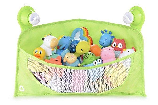 Organizador para Brinquedos de Banho com Ventosa Verde - Munchkin