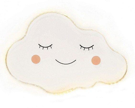 Luminária Nuvem Cílio de LED - Modali Baby