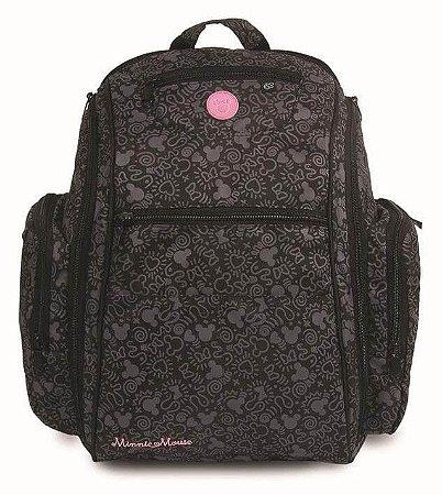 Bolsa Maternidade BackPack com Porta Lenço Minnie - Baby Go