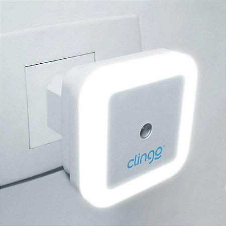 Luz Noturna Luminária LED com Sensor Automático - Clingo