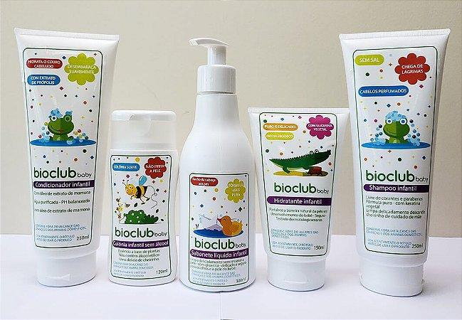 Kit de Cosméticos para Higiene do Bebê Hipoalergênico - Bioclub Baby