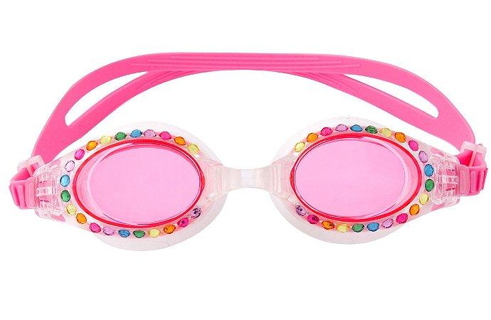 Óculos de Natação com Brilho Rosa - Stephen Joseph