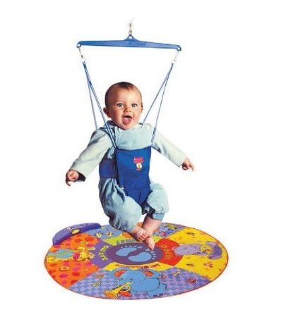 Cadeira Pula Pula Jolly Jumper + Tapete Musical Infantil