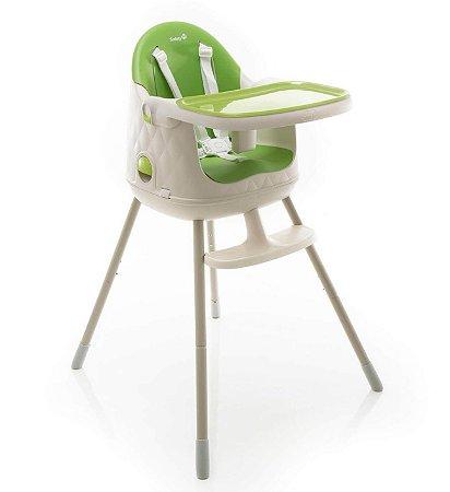 Cadeira de Alimentação Jelly 3 posições de altura até 25Kg Verde - Safety 1st
