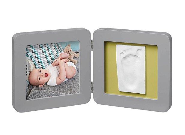 Porta Retrato com Molde My Baby Touch Grey - Baby Art