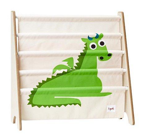 Rack para Livros Infantis Dragão - 3 Sprouts