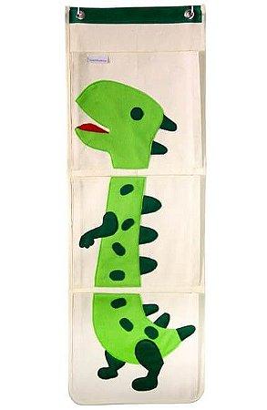 Organizador de Livros Infantis Dinossauro - O Sapo e a Princesa