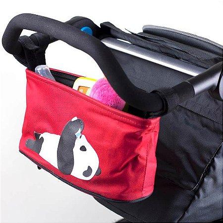 Organizador para Carrinho Panda Vermelho - O Sapo e a Princesa