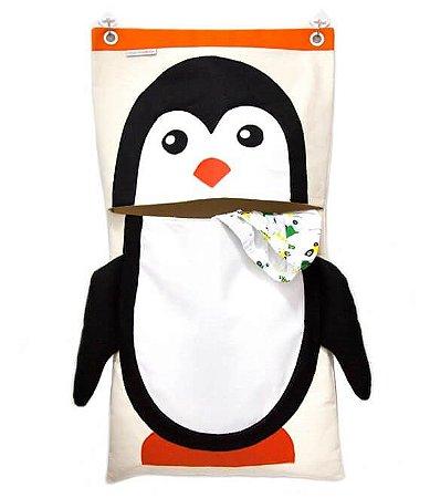 Saco para Roupa Suja Pinguim - O Sapo e a Princesa