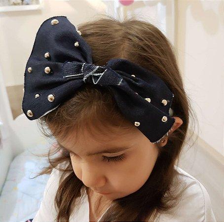 Tiara Infantil com Laço e Apliques - Mamaeqfez