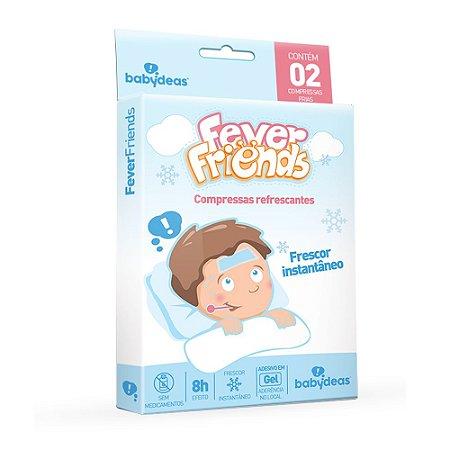 Compressa Refrescante para Alívio da Febre Fever Friends - Babydeas