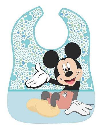 Babador Impermeável Mickey Bolinhas - Girotondo Baby