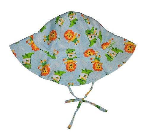 Chapéu de Banho Infantil com FPS +50 ZOO - Ecoeplay