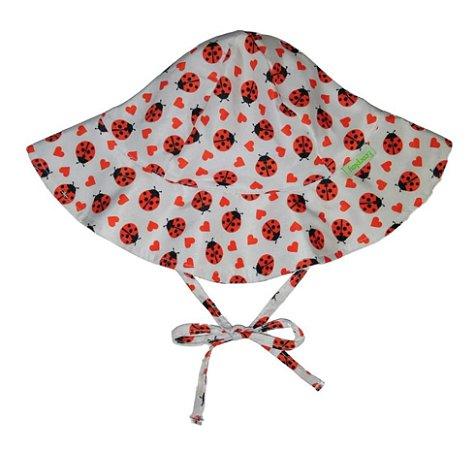 Chapéu de Banho Infantil com FPS +50 Joaninha - Ecoeplay
