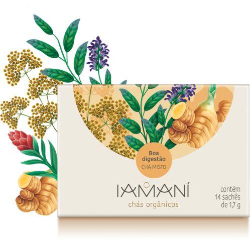Chá Orgânico Misto Boa Digestão (Digestão) - Iamaní