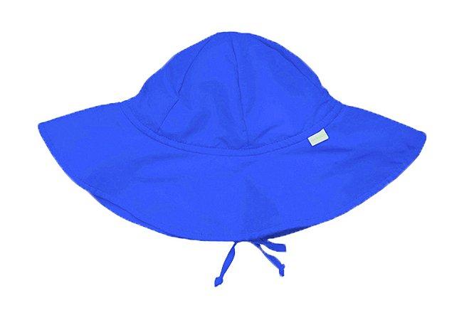 Chapéu de Banho Infantil com FPS +50 Azul Royal - Ecoeplay