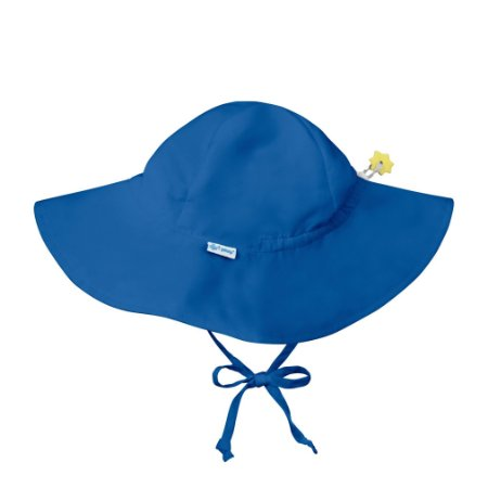 Chapéu de Banho Infantil com FPS +50 Azul Royal - iPlay