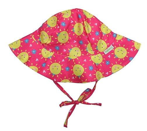 Chapéu de Banho Infantil com FPS +50 Solzinho - Ecoeplay