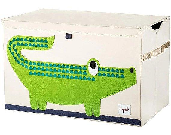 Organizador Infantil Retangular Crocodilo - 3 Sprouts