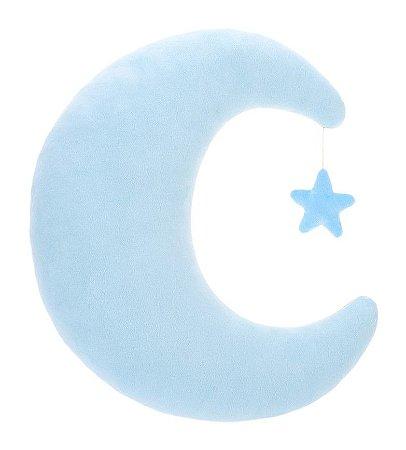 Almofada Lua Azul - Bupbaby