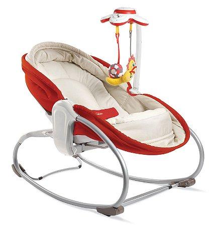 Cadeira de Balanço 3 em 1 Rocker Napper Vermelha - Tiny Love