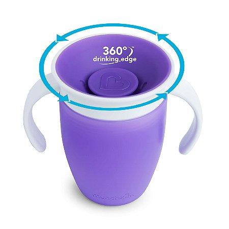 Copo de Treinamento 360 (Miracle Cup) Roxo - Munchkin