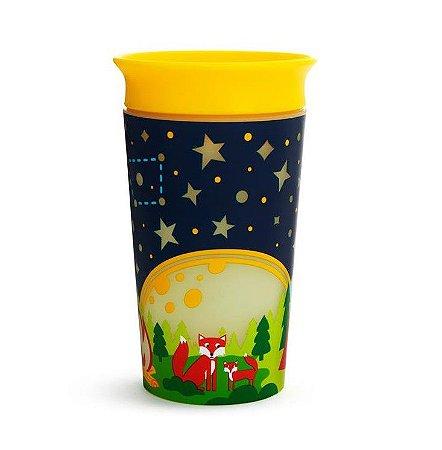 Copo de Treinamento 360 (Miracle Cup) Glow Acapamento 270ml - Munchkin