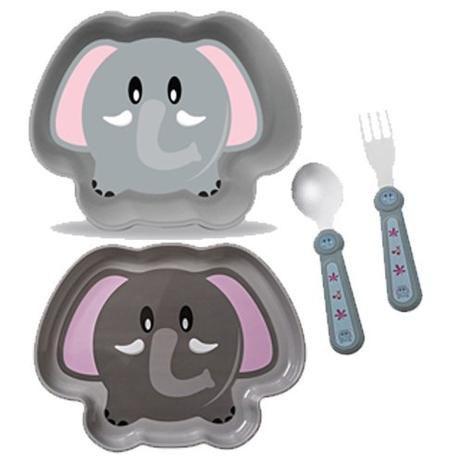 Kit Alimentação ZOO Elefante - Girotondo Baby