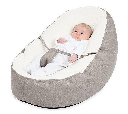 Puff Ninho que Cresce com o Bebê Chevron - Baby Pil