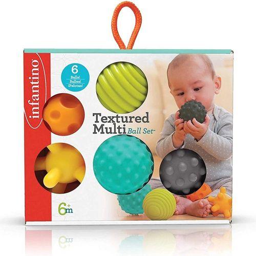 Bolas de Silicone Infantino Texturizada - Infantino