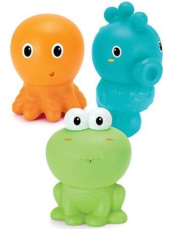 Brinquedo de Banho Infantino Fundo do Mar - Infantino