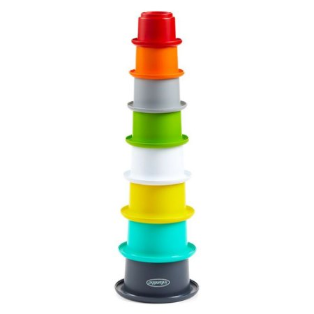 Brinquedo de Banho Copos Coloridos Empilháveis - Infantino