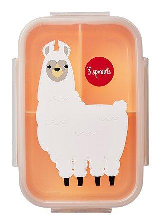 Bento Box (Porta Lanche e Comida) Lhama - 3 Sprouts