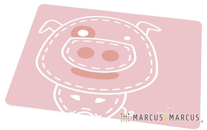 Jogo Americano em Silicone Porquinho - Marcus & Marcus