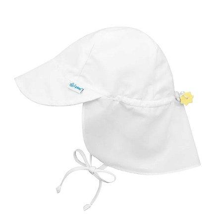 Chapéu de Banho Infantil Australiano com FPS +50 Branco - iPlay