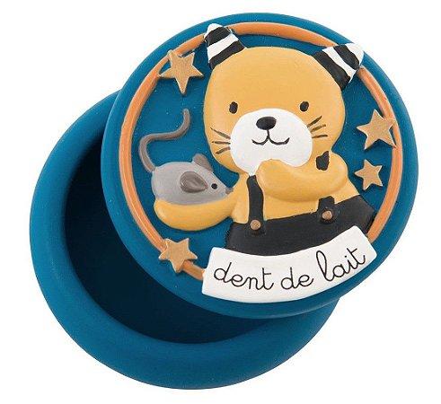 Caixinha para Dente de Leite Les Moustache Gatinho - Moulin Roty