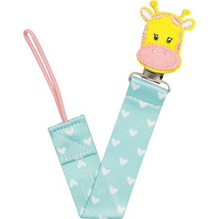Prendedor de Chupeta Frutti Girafa - Buba