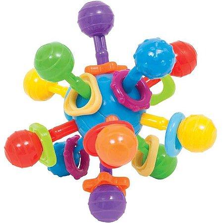 Brinquedo Atomic Ball com Mordedor e Chocalho - Buba